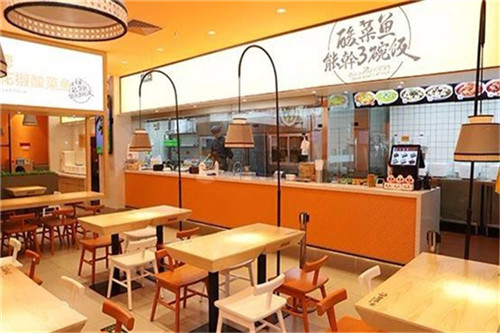 酸菜鱼品牌加盟商机如何,怎样做鱼餐厅连锁加盟店装修好