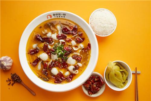 开酸菜鱼饭快餐加盟店创业选好品牌优势多