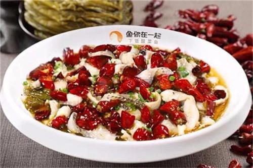 选择鱼你在一起开广东酸菜鱼饭加盟店商机不俗