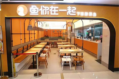 鱼你在一起分享酸菜鱼米饭快餐加盟店选址技巧